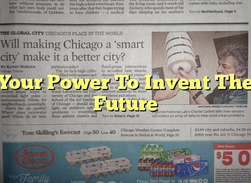 Your Power To Invent The Future